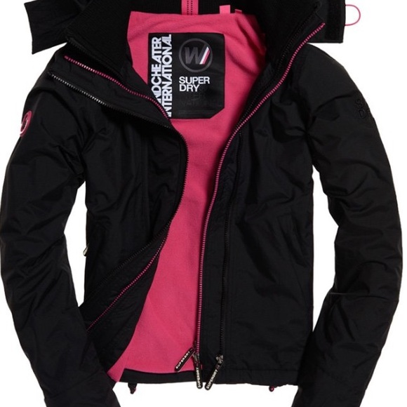 Superdry Jackets & Blazers - Women's XSmall super dry fleece lined jacket